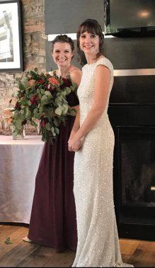 monica wedding