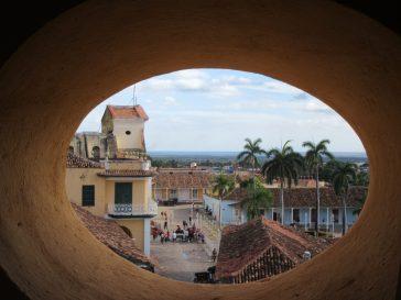 Trinidad tower view