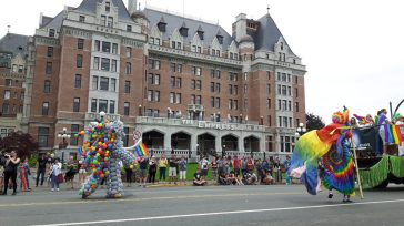 victoria pride parade