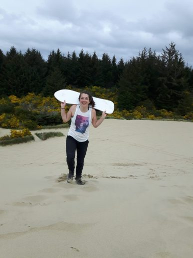 sandboarding oregon coast