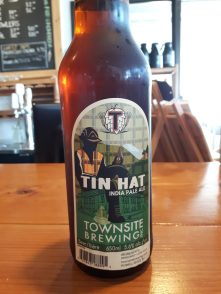 townsite brewing tin hat ale