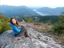tin hat mountain sunshine coast trail