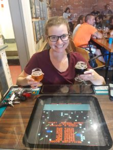 arcade games townsite brewing