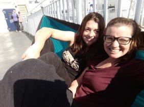 hammock on bc ferries
